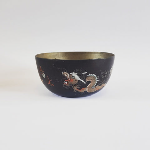 Dragon Lacquer Bowl