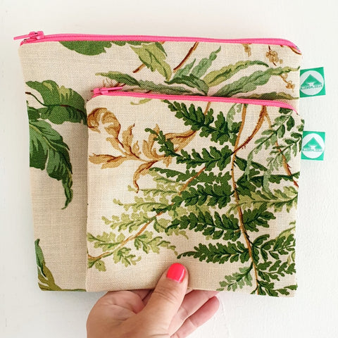 Fern Zip Bag