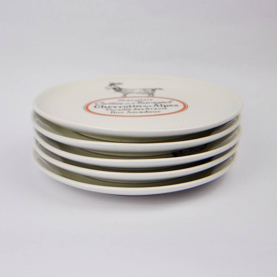 Set of French Cheese Plates ... & Set of French Cheese Plates | Blue Bowl