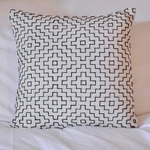 Geometric Cotton Cushion
