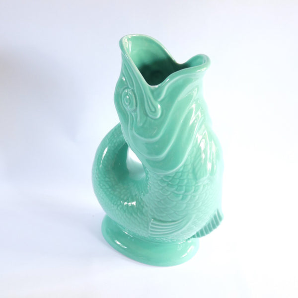 Gurgling Fish Jug - Blue Bowl