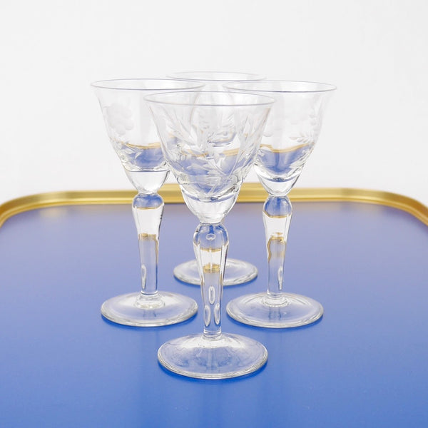 Grape Liqueur Glasses