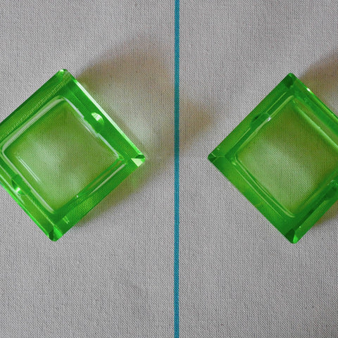 Square Glass Ash Tray