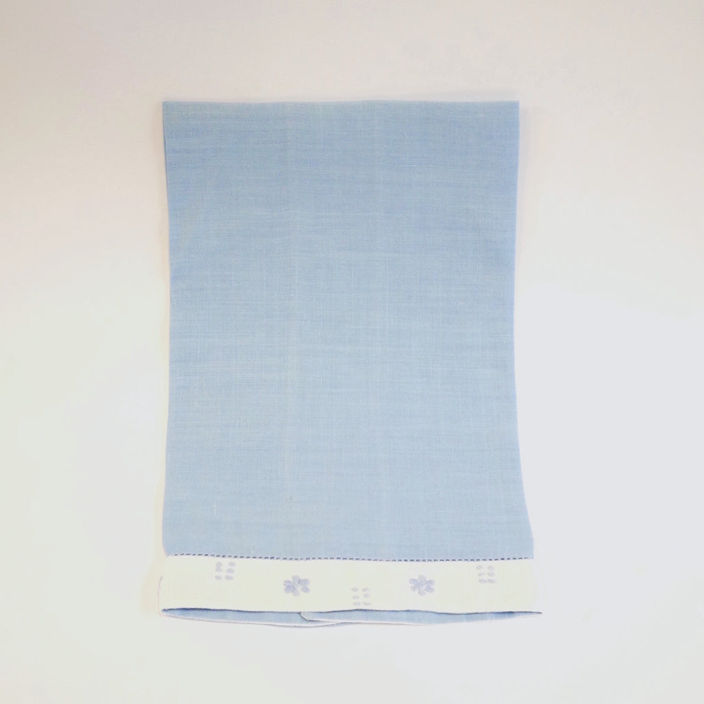 Blue Hand Towel - Blue Bowl