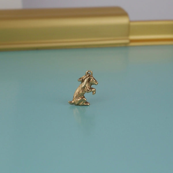 Hare Gold Charm