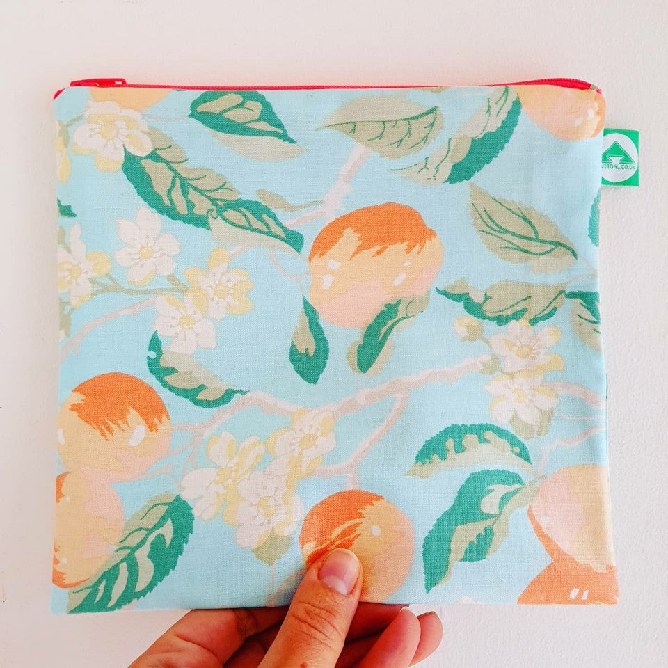 Peachy Zip Bag