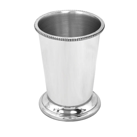 Pewter Julep Cup - Blue Bowl