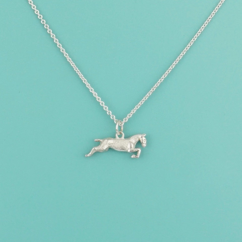 Jumping Horse Silver Charm
