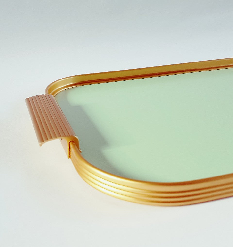 Medium Tray - Blue Bowl