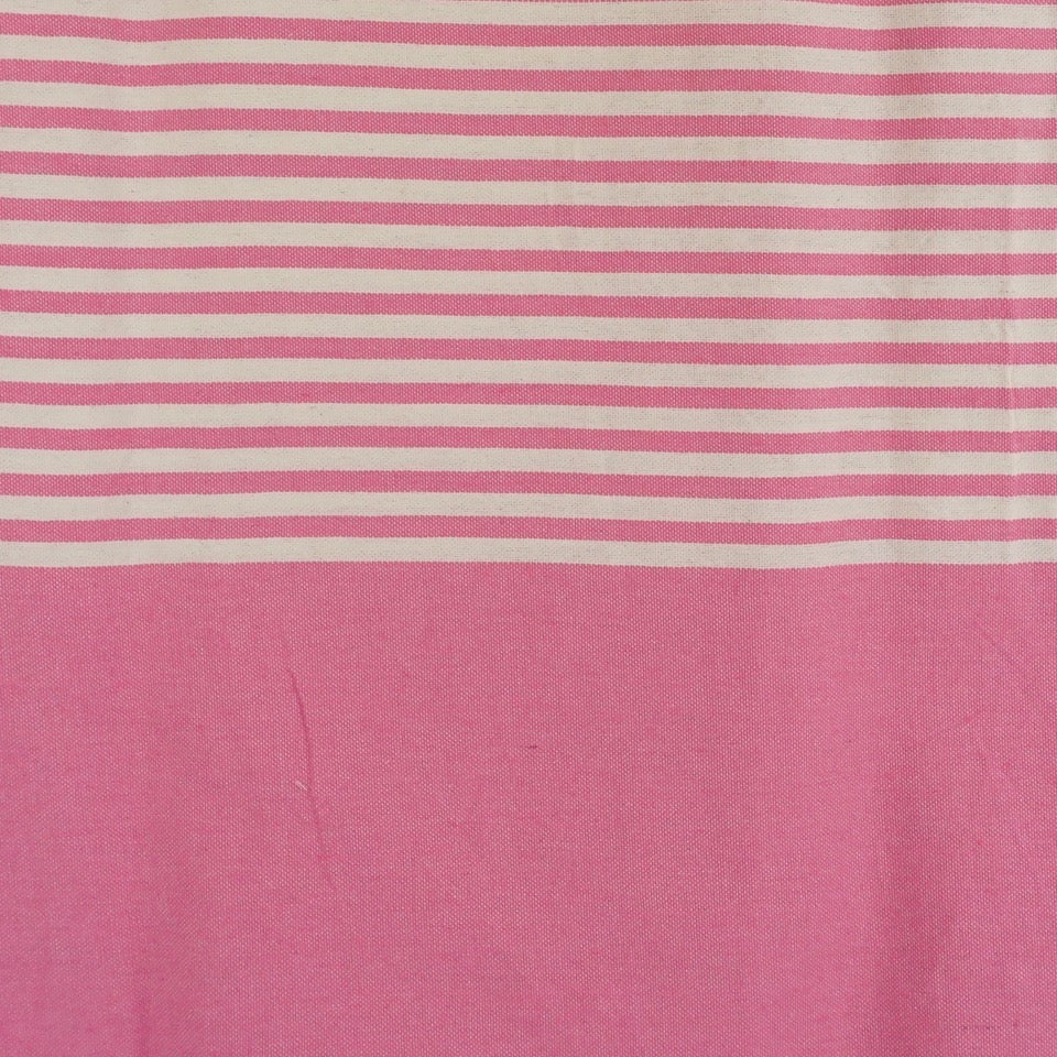 Large Stripey Cotton Throw