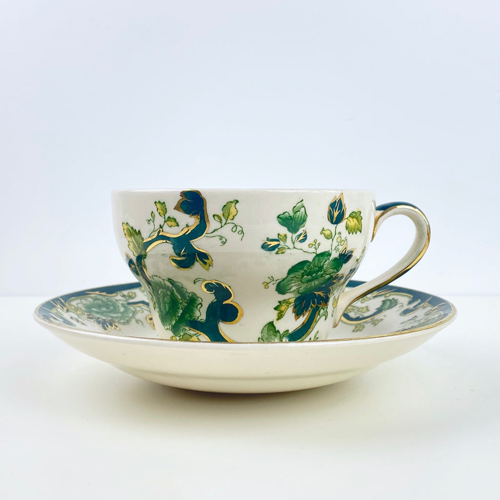A Pair of Green Tea Cups