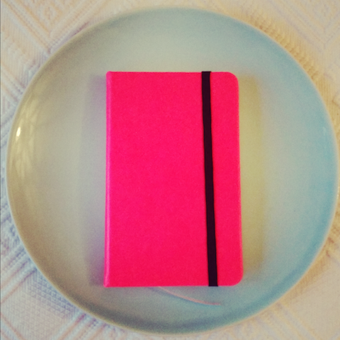 Neon Notebook - Blue Bowl