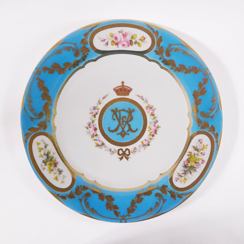 Queen Victoria Tin Plate