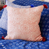 Blockprint Cotton Cushion