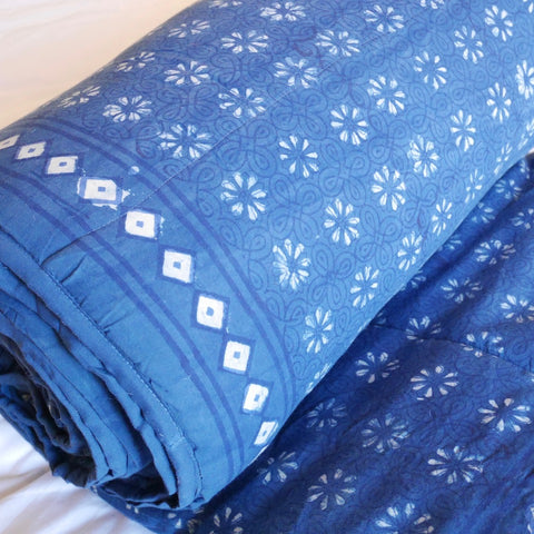 Indigo Cotton Quilt