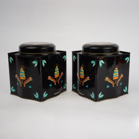 Pair of Tea Tins