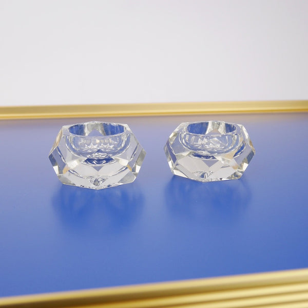 Crystal Salt and Pepper Pots
