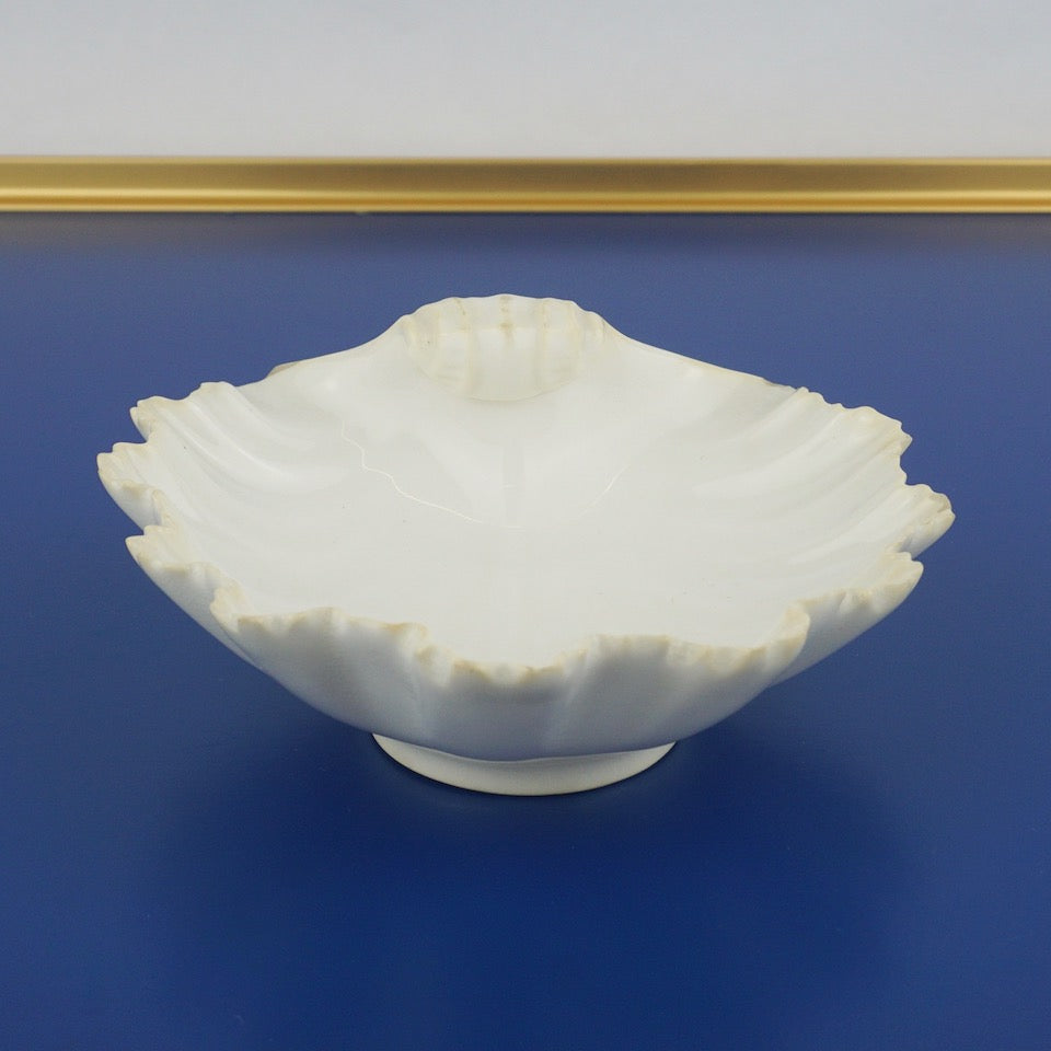 Pair of Porcelain Shell Dishes