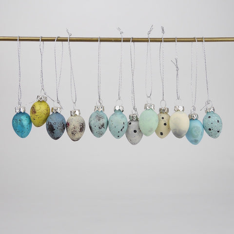 Speckle Egg Baubles