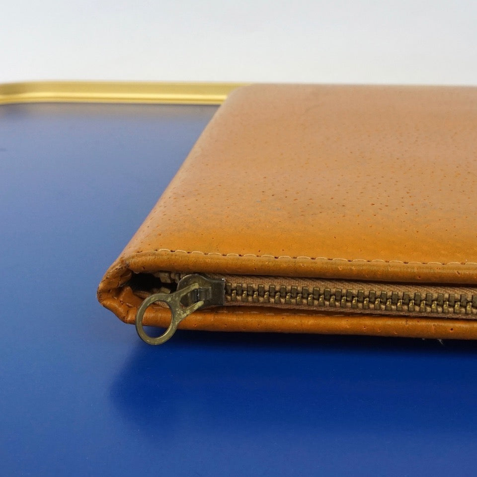 Vintage Tan Leather Writing Case