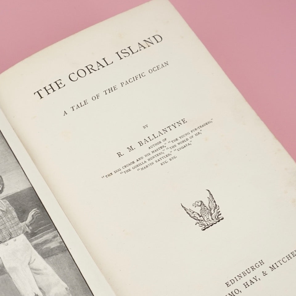 The Coral Island by R.M. Ballantyne