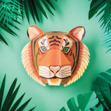 Make Your Own Majestic Tiger Head
