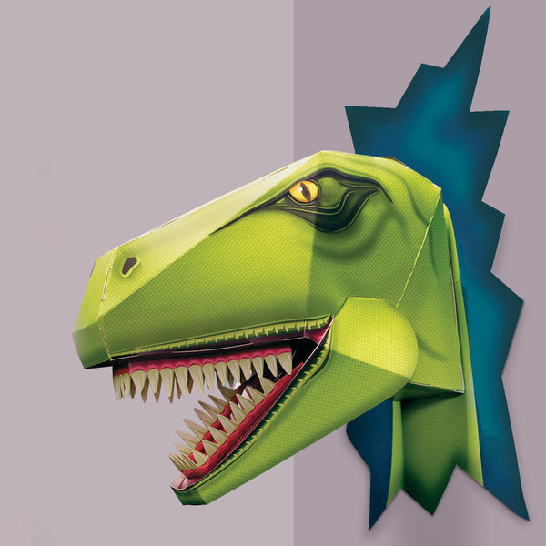 Build a Terrible T Rex Head - Blue Bowl