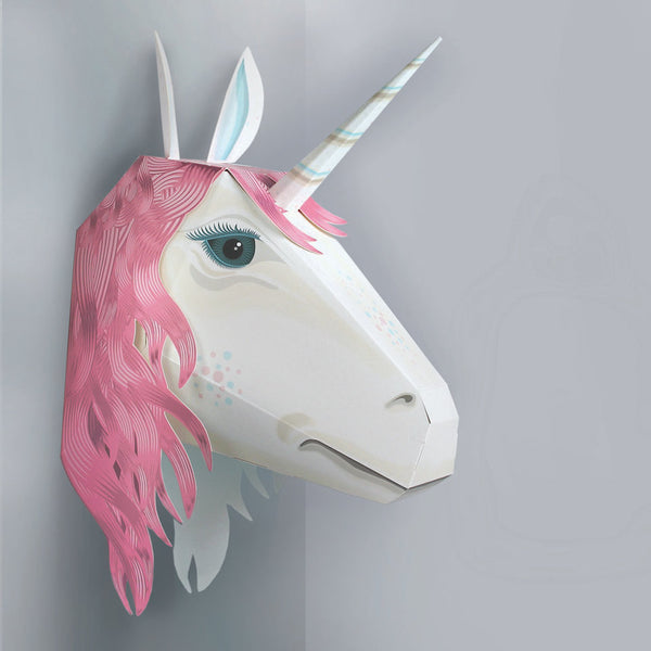 Make Your Own Magical Unicorn Friend - Blue Bowl