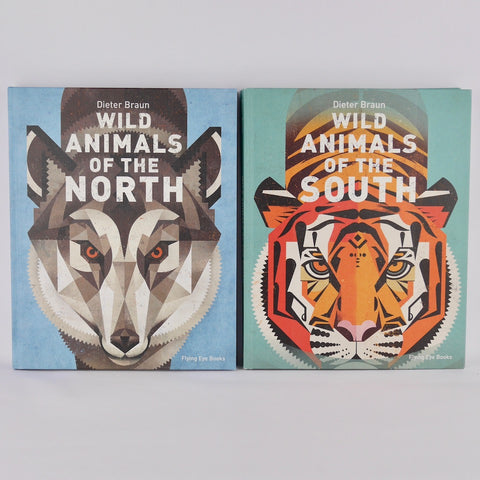 Wild Animals Books by Dieter Bruan