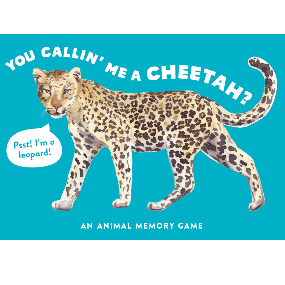 You Callin' Me A Cheetah? - Blue Bowl