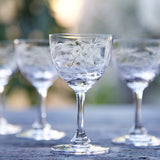 Digestif Glasses - Blue Bowl