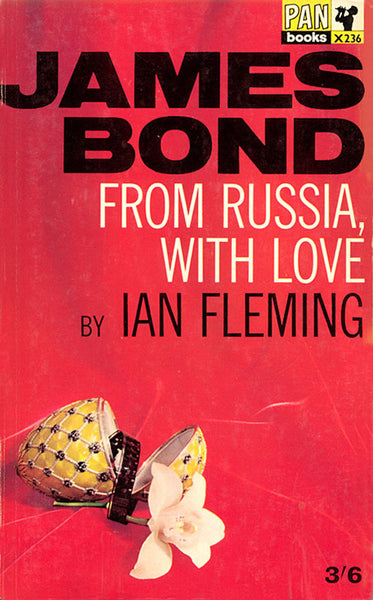 Full Collection of 1960's James Bond Books