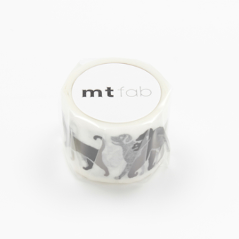 Animal mt Washi Tape - LIMITED EDITION - Blue Bowl