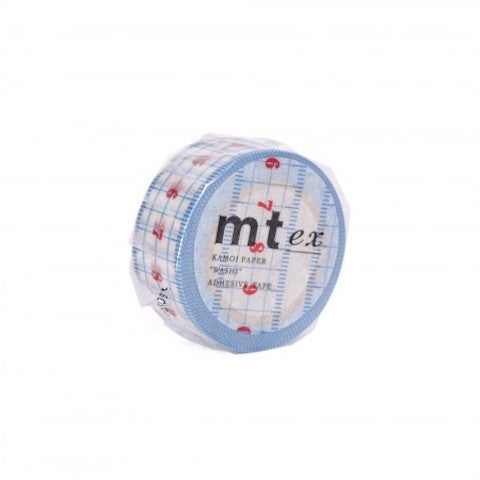 Measuring mt Washi Tape - Blue Bowl