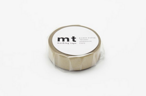 Metallic mt Washi Tape - Blue Bowl
