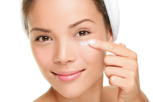 Selections from Antiaging, sun protection, hydrating, replenishing and rejuvenating products.