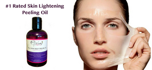 You will see fast skin peeling with our Skin Lightening Peeling Oil