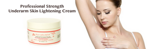 Chicken skin, dark armpits and underarms no more with our powerful strength  Underarm Skin Lightening Cream