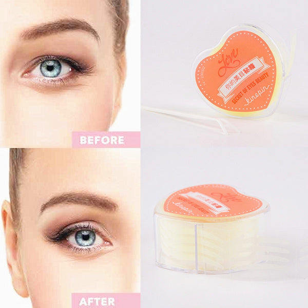 Invisible Eyelid Strips 600 pcs. - BeBlemishFree.Com