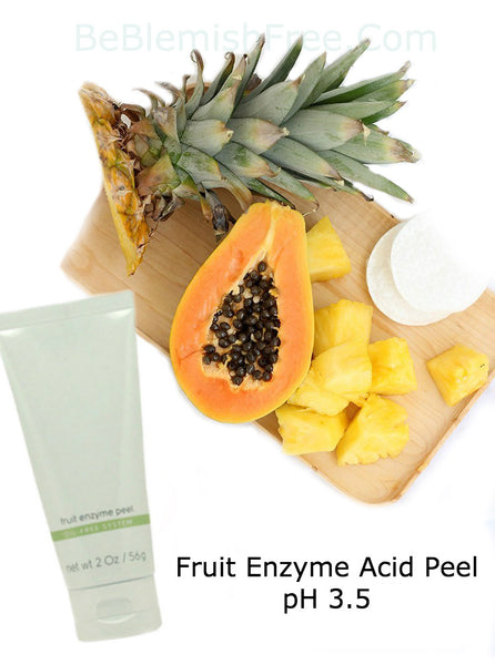 fruit enzyme acid peel