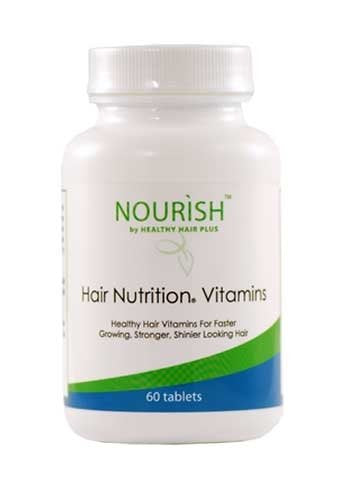 Hair Nutrition Vitamins 60 Tablets - BeBlemishFree.Com
