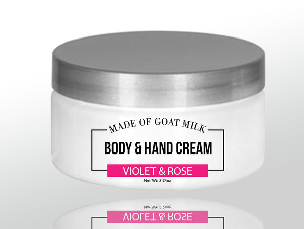 Pure Goat Milk Body and Hand Cream - BeBlemishFree.Com