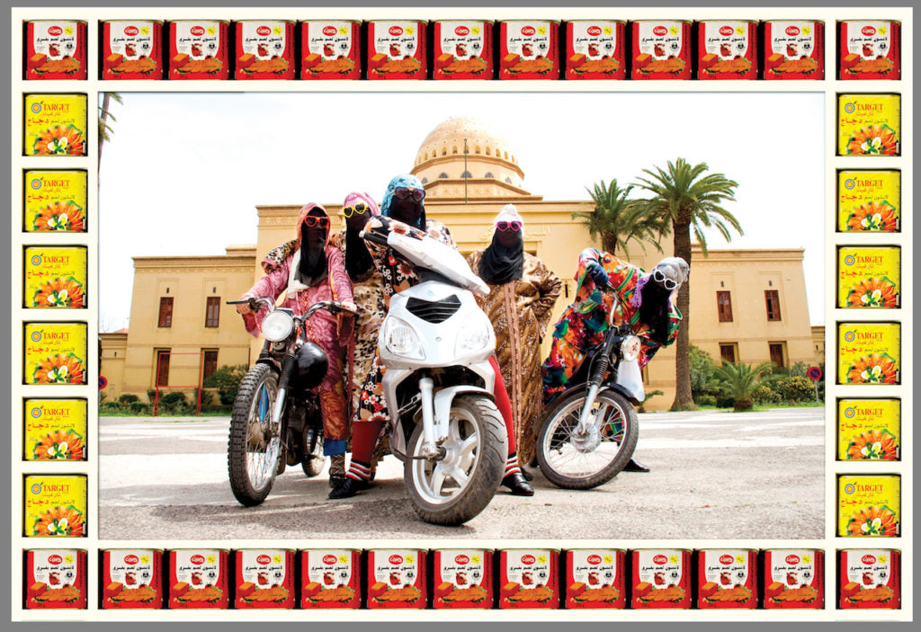 Kesh Angels, photograph by © Hassan Hajjaj, courtesy of the artist and Vigo Gallery