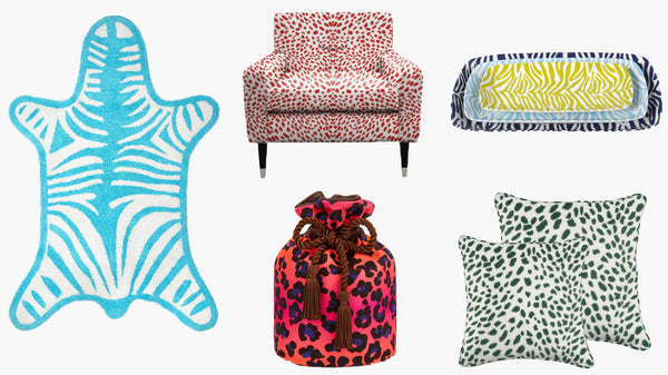 Animal Print Homeware 2016 - Postcards Home Picks