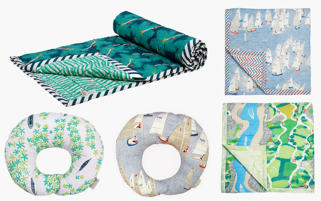 Baby Quilts and Baby Pillows as New Baby Gifts