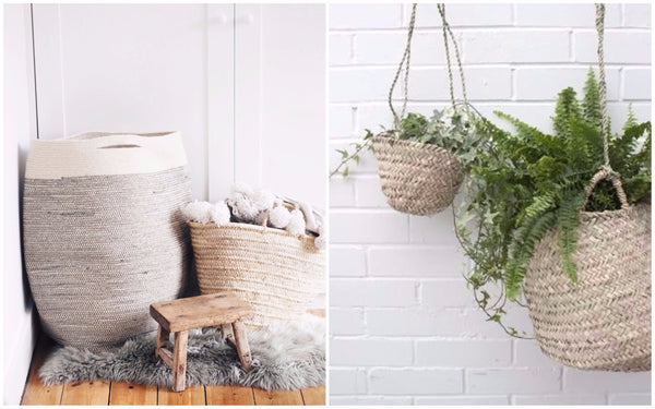 Baskets as Stylish Storage