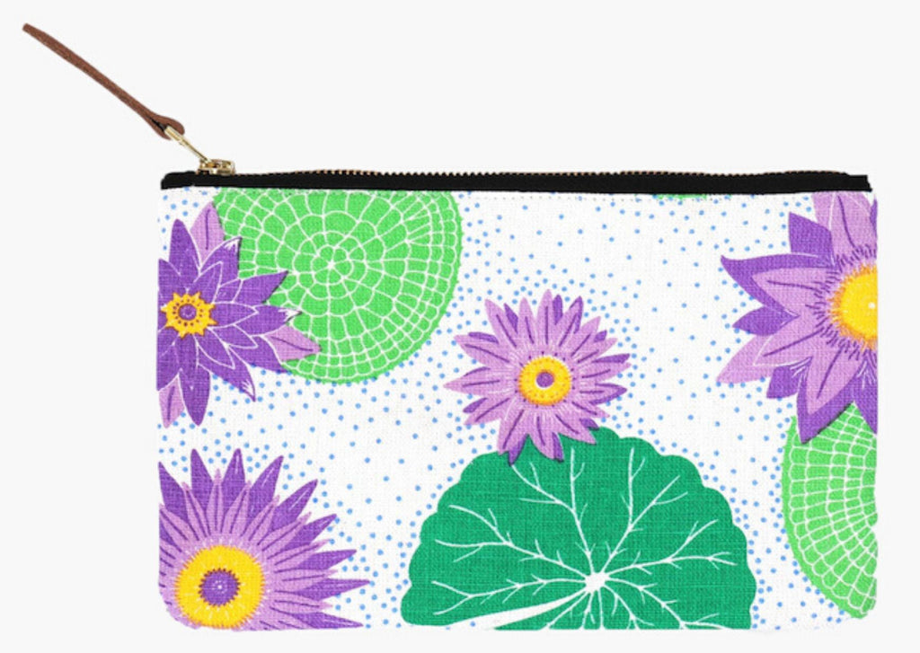 Lily Pad Clutch Pouch Postcards Home - Valentine's Day Gift Ideas