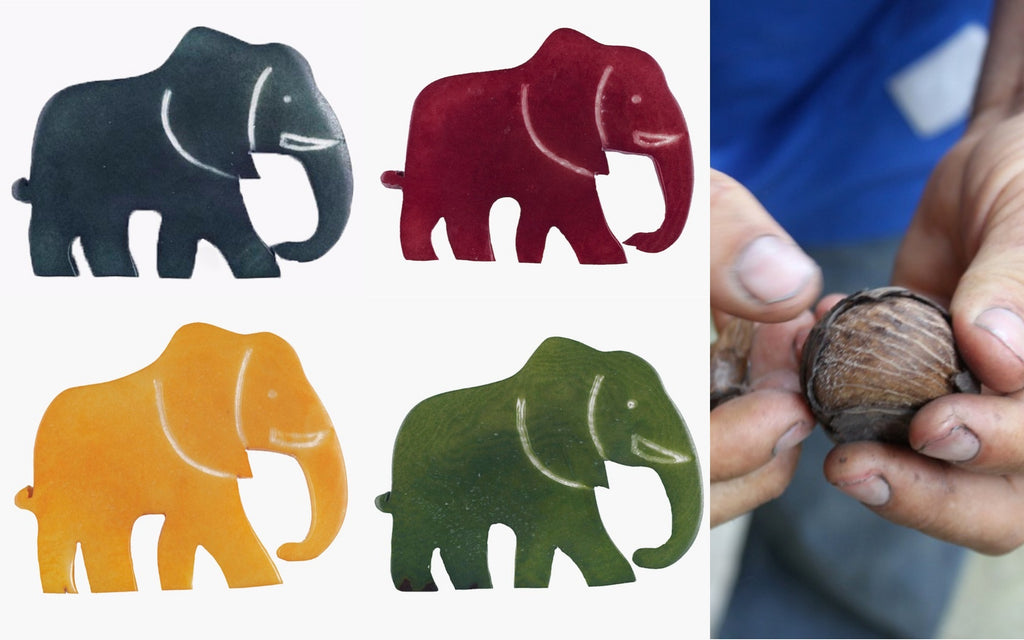Elephant Brooches