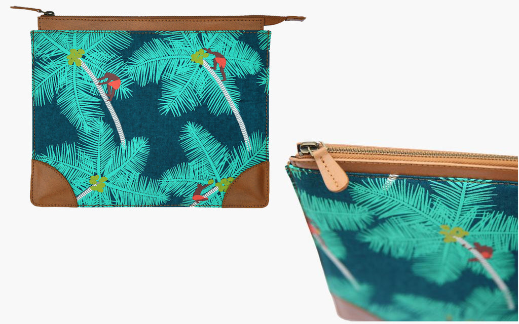 Coconut Pickers Laptop and iPad Case - Gift for Her