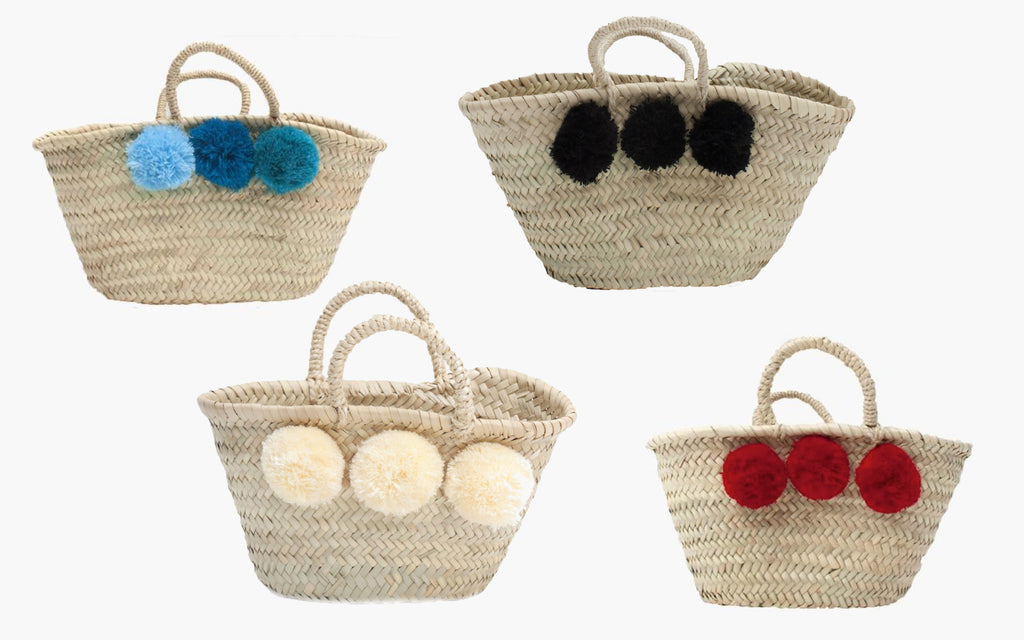Mini Pom Pom Baskets - Christmas Presents for Kids